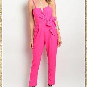 'Passion Pink' Jumpsuit